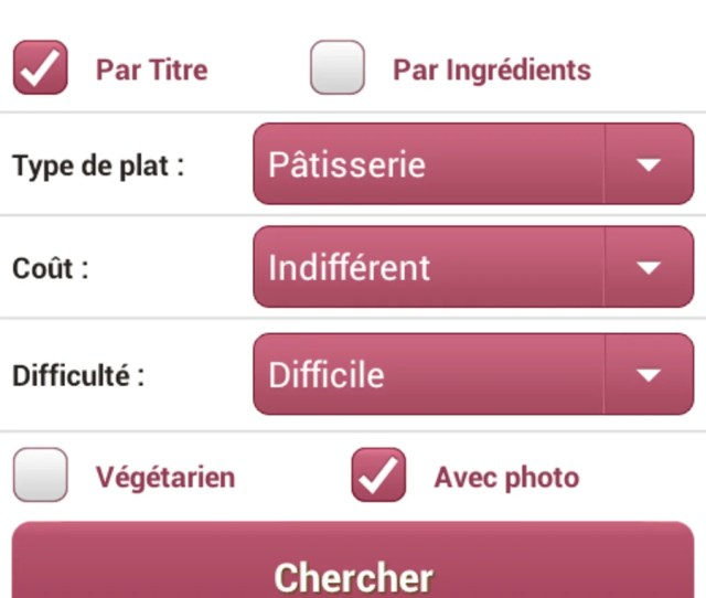 Cuisine Aufeminin Pour Android Telecharger