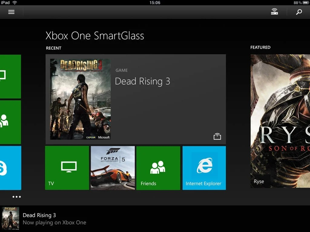 Xbox One SmartGlass For IPhone Download