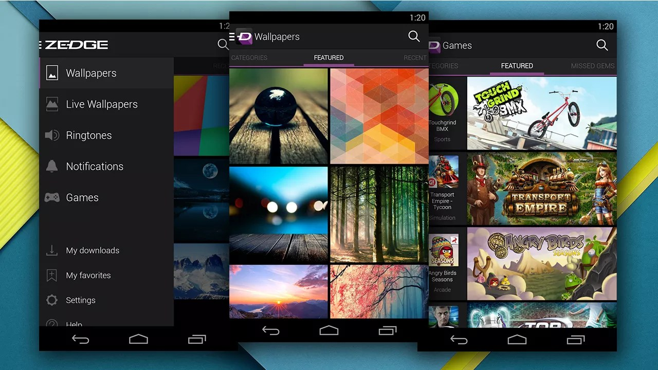 Zedge For Android