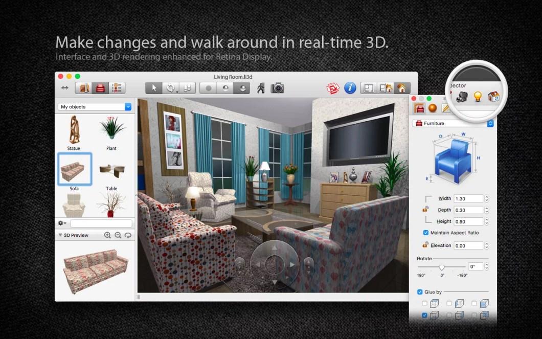 Live Interior For Mac