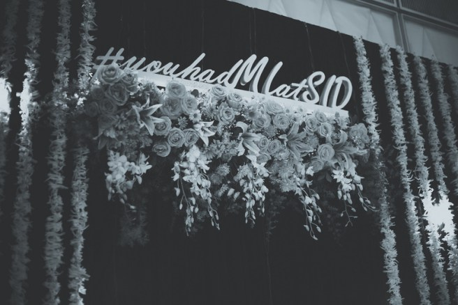 showcase your wedding hashtag