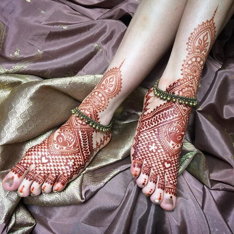 Foot Jewellery For Brides