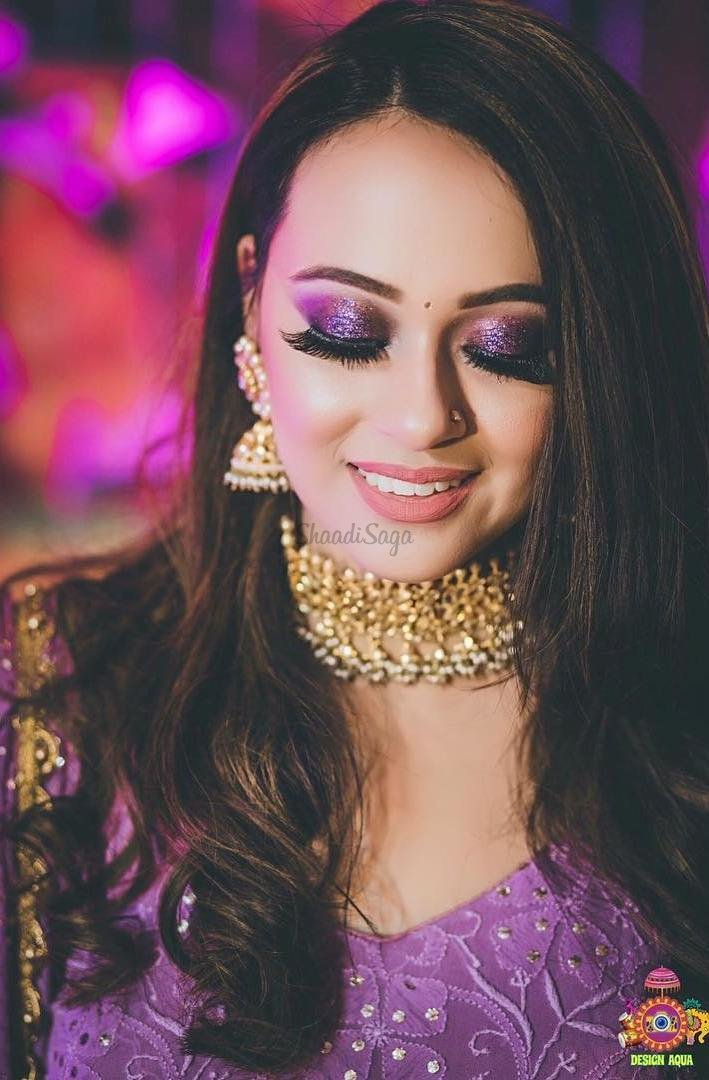 7 Glamorous & Trendy Shimmer Eye Makeup Looks for Brides | ShaadiSaga