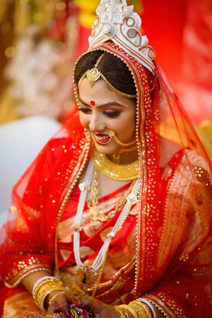 14 beautiful photos of bengali brides that will mesmerize
