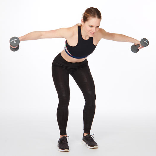 at home back exercises for back fat