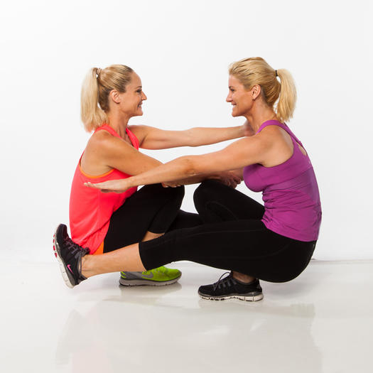 Image result for Partner pistol squat