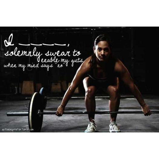 i solemnly swear 0 - 25 Inspirational Fitness Quotes to Motivate Every Aspect of Your Workout