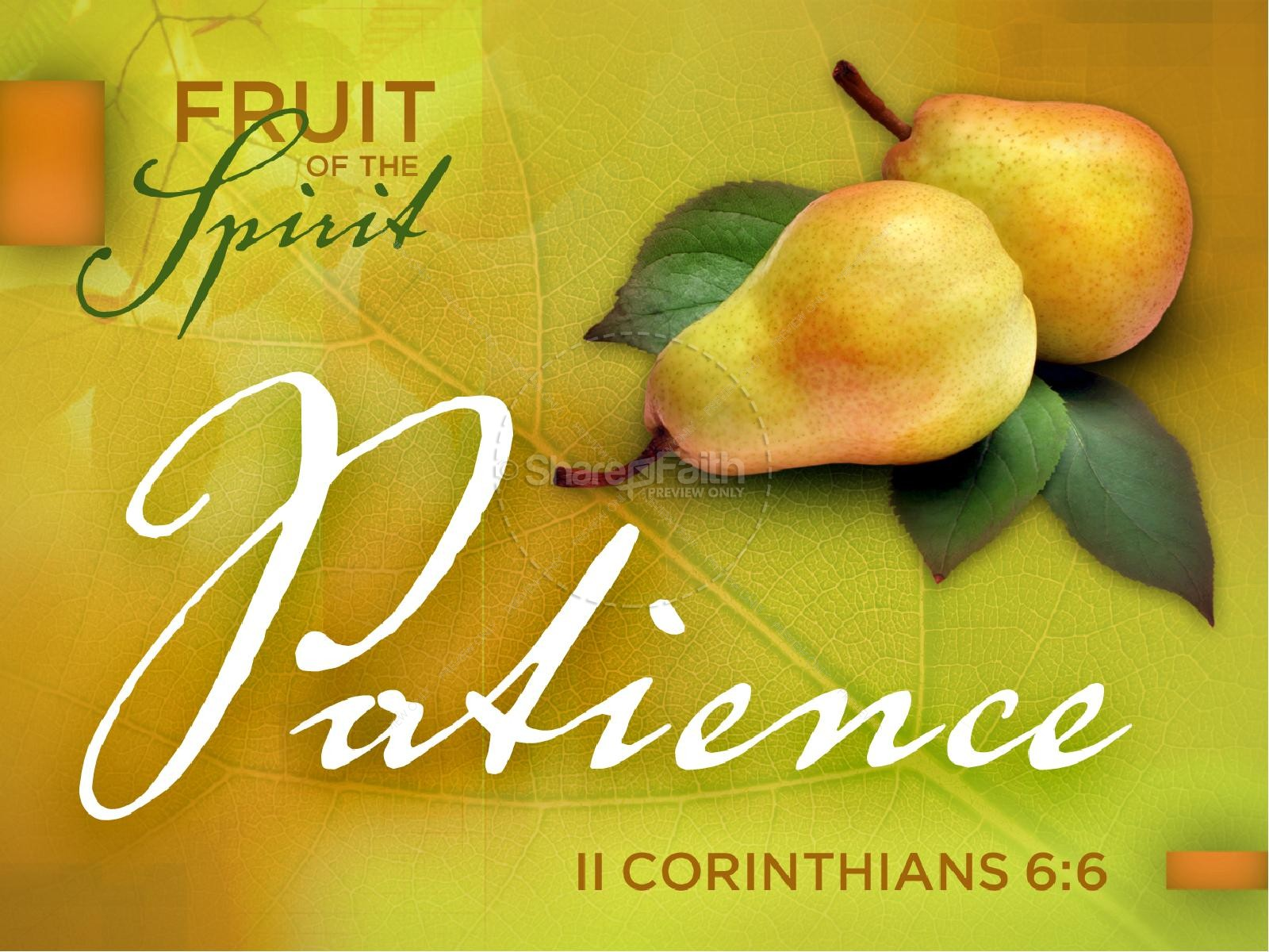 Ts And Fruits Of The Holy Spirit Ppt