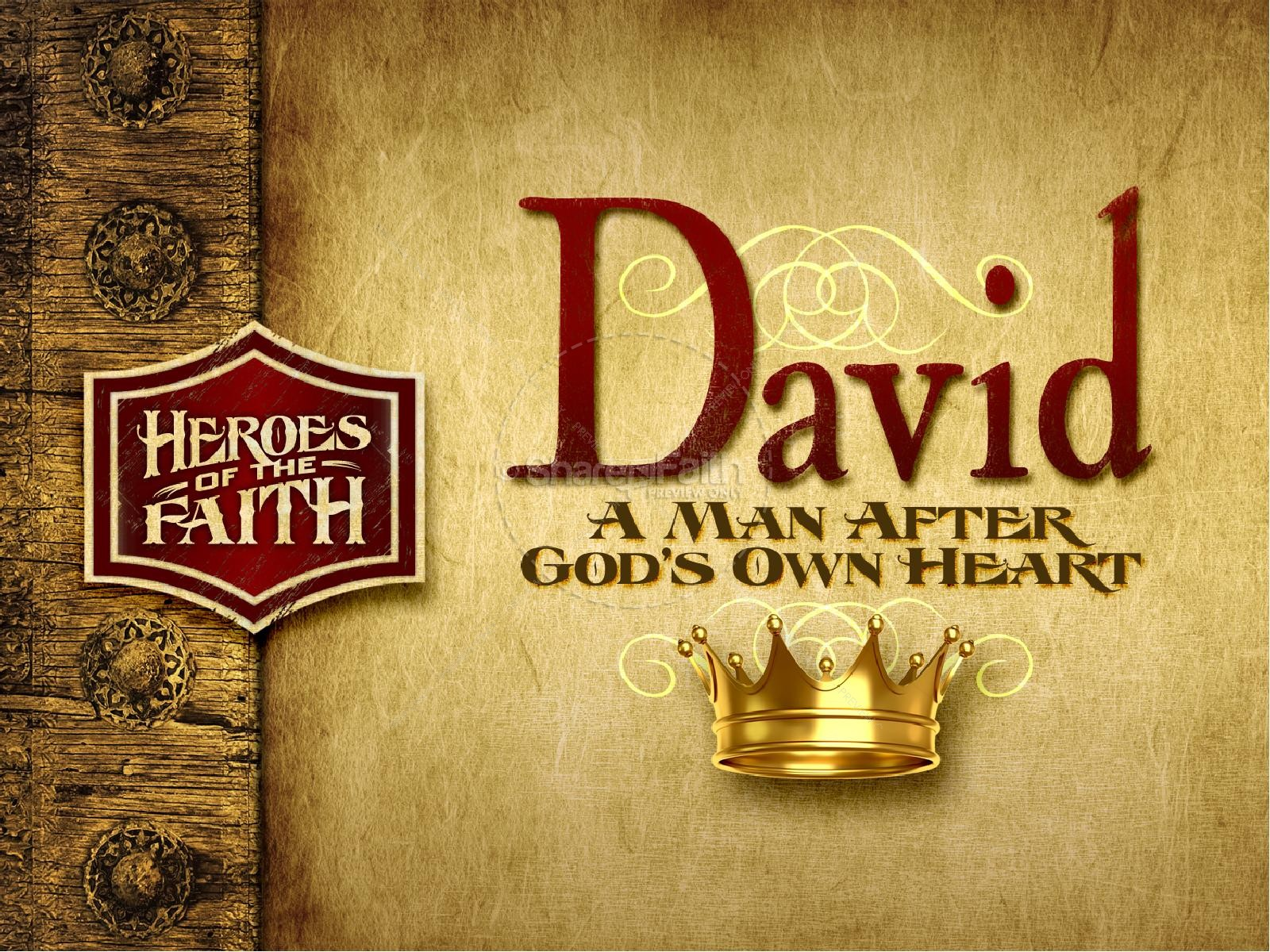 King David PowerPoint Template