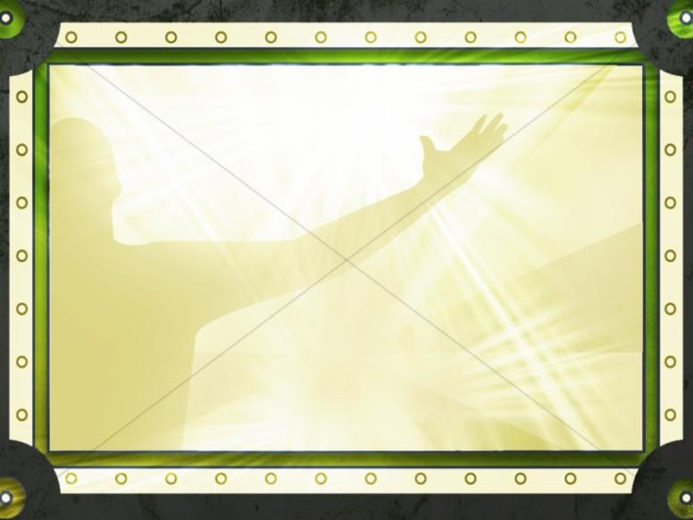 Prayer Shield PowerPoint Template PowerPoint Sermons