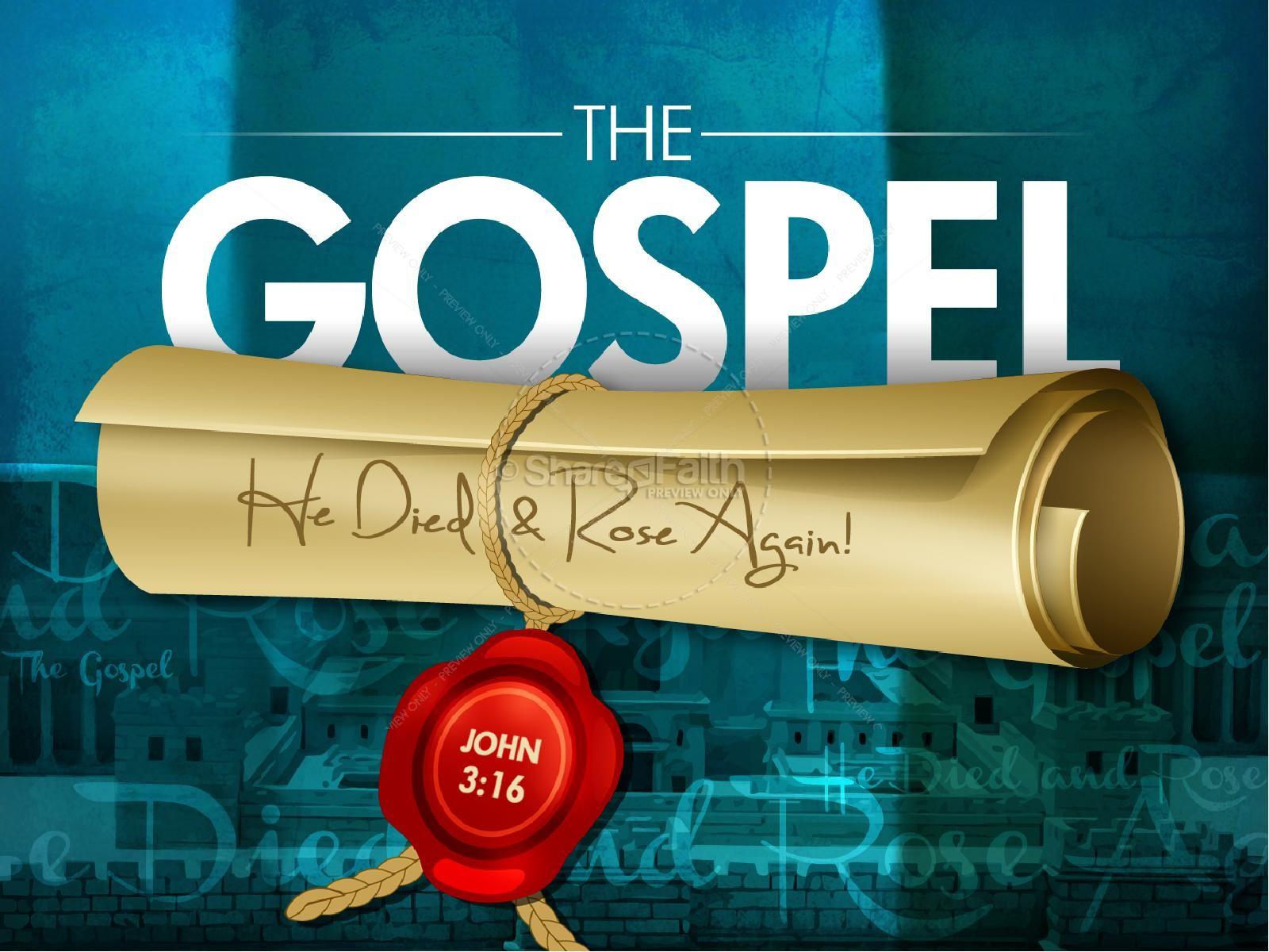 The Gospel PowerPoint Easter Sunday Resurrection PowerPoints
