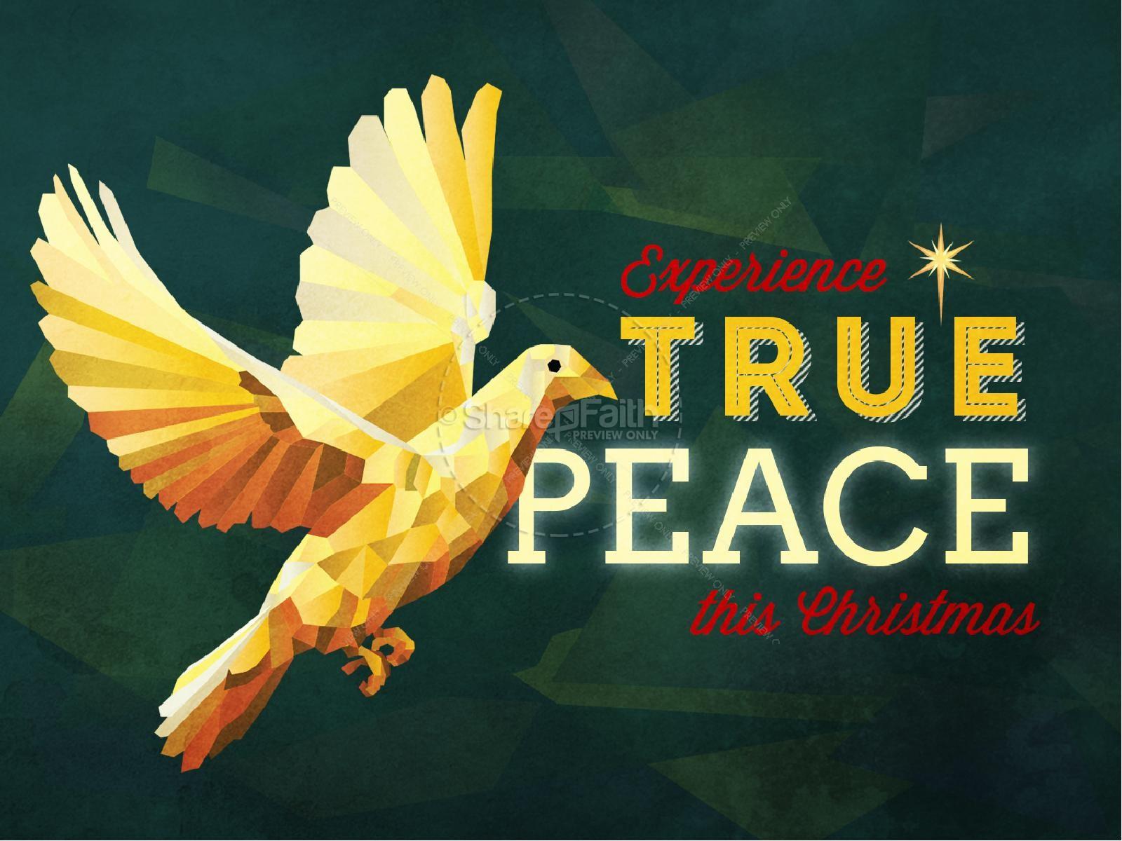 Christmas Peace Clip Art