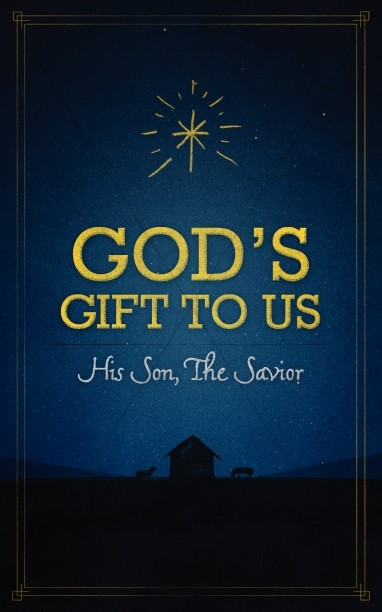 god 39 s gift to us church bulletin christmas bulletins