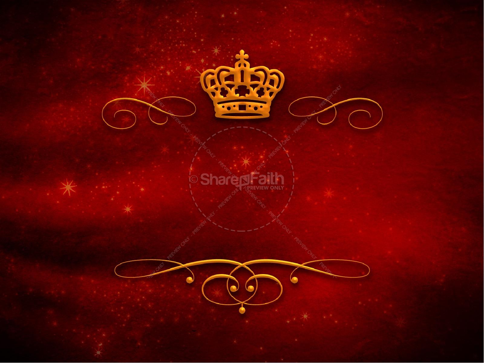 Powerpoint Backgrounds Crown