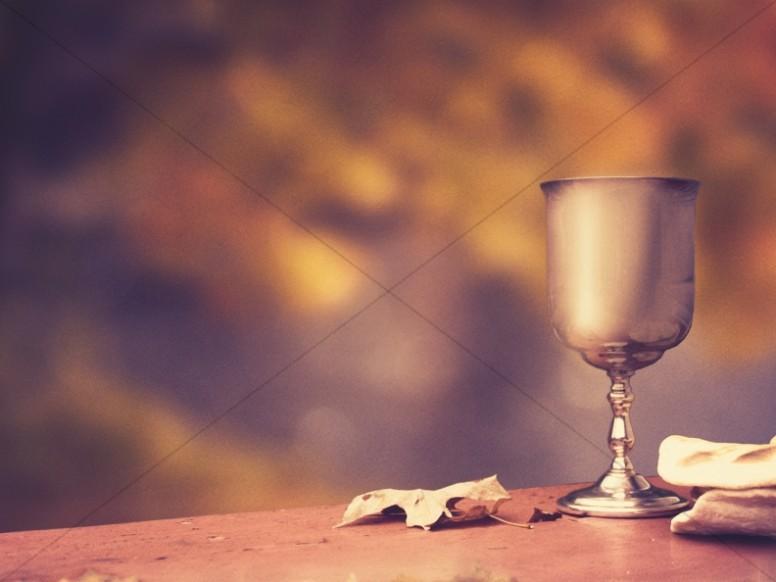Lenten Communion Background Powerpoint