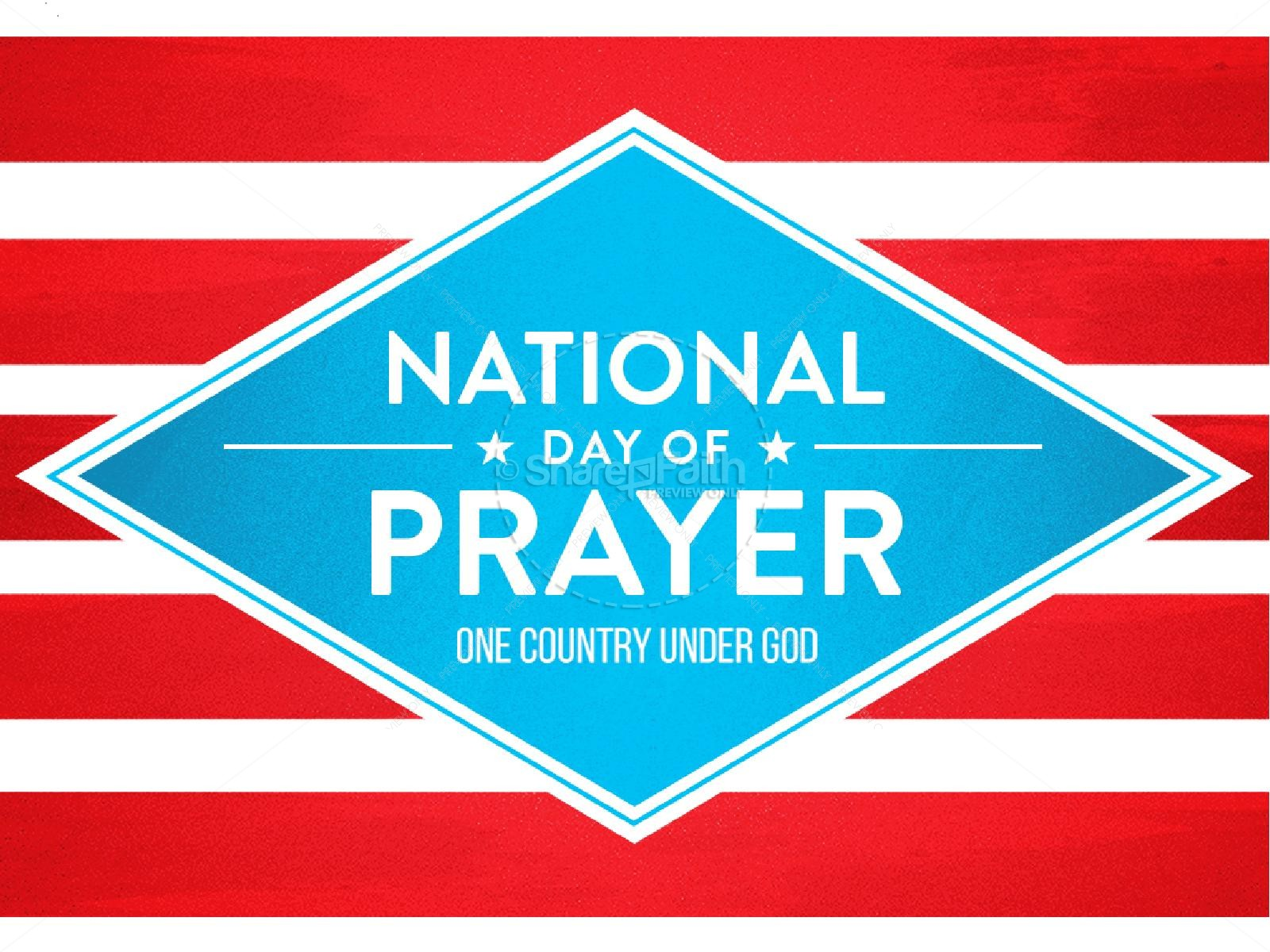 National Day Of Prayer Christian PowerPoint PowerPoint Sermons