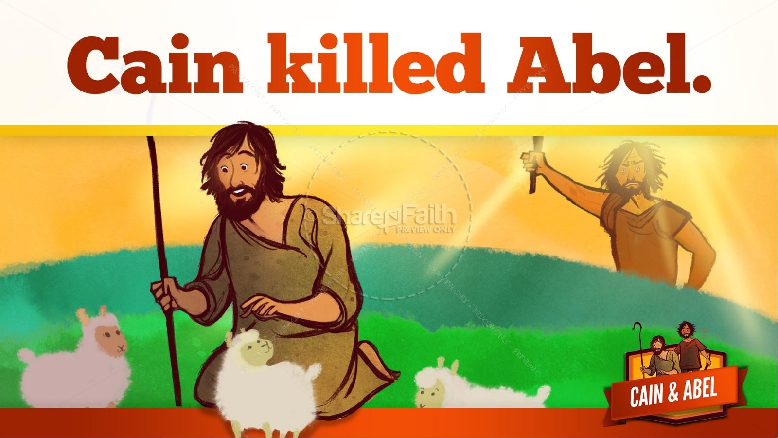 Cain And Abel Lesson For Kids