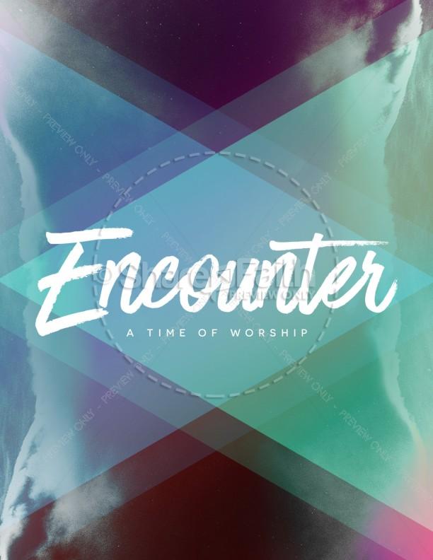 Worship Encounter Church Flyer Template Flyer Templates