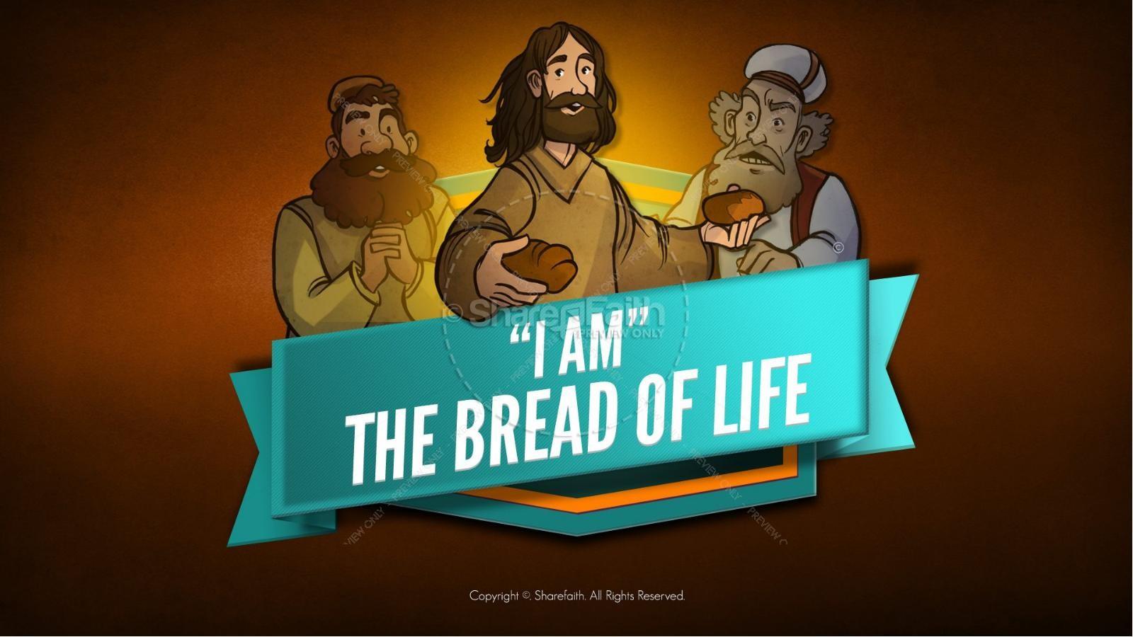 John 6 Bread Of Life Kids Bible Stories