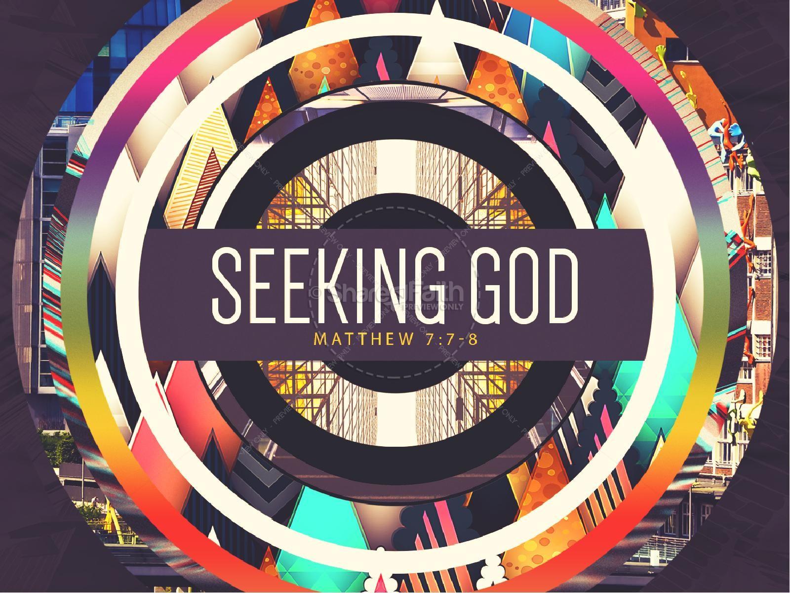 Seeking God Sermon PowerPoint PowerPoint Sermons