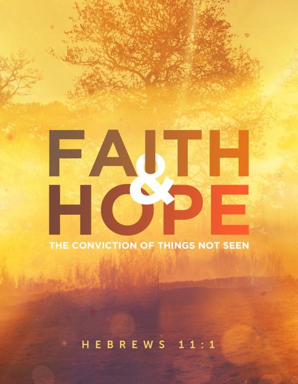 Faith And Hope Church Flyer Template Flyer Templates