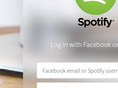 Spotify ui设计