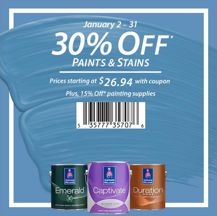 Sherwin Williams Coupons And Sales Print A Coupon And Save