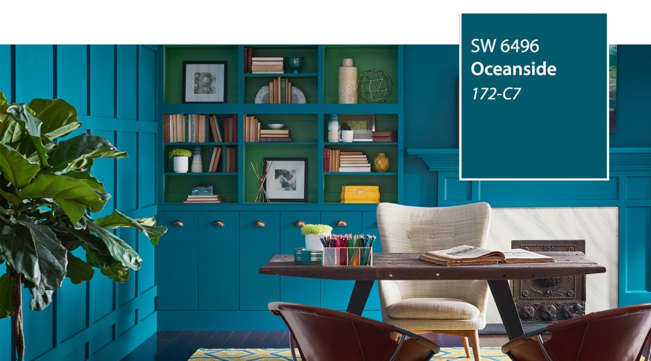 Sherwin Williams Color of the Year Oceanside.