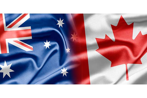 Which is better for students Australia of Canada?