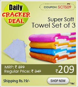 Super Soft Towel Set of 3