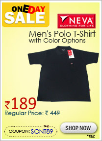 NEVA Men's Polo T-Shirt with Color Options
