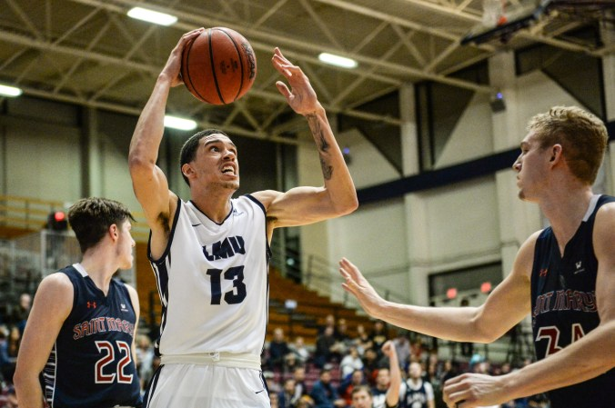 Image result for Pepperdine Waves vs. Loyola Marymount Lions College Basketball 2019