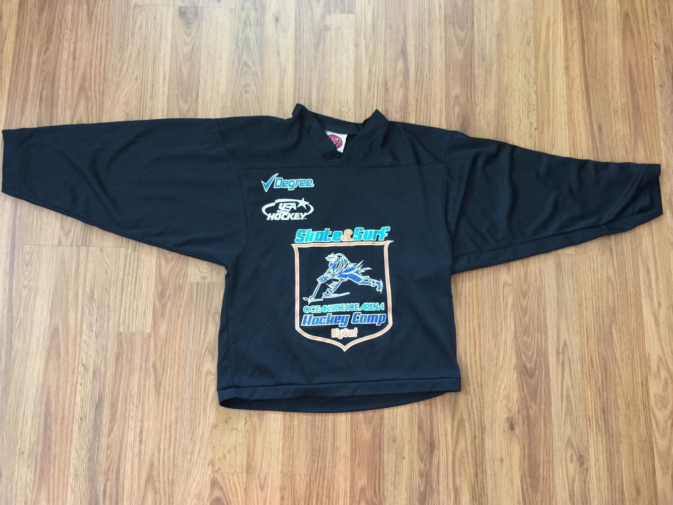 Usa Skate Amp Surf Oceanside Camp Boys Sz L Practice Jersey