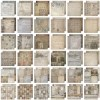 Tim Holtz Idea-ology 12 x 12 Paper Stash FRENCH INDUSTRIAL