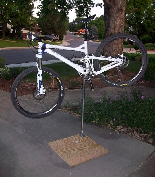 Diy How To Build Your Own Bike Work Stand Singletracks Mountain Bike News