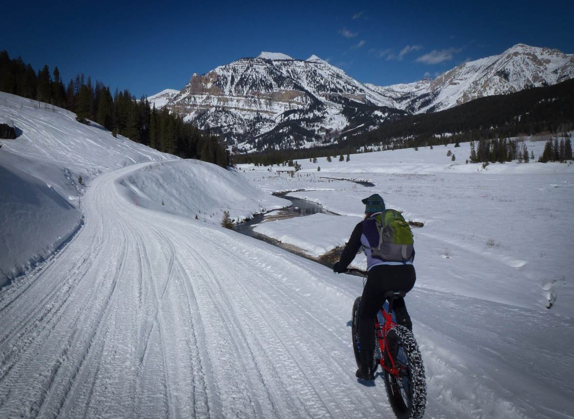 It does not get much better than this on a fat bike. Photo: courtesy Curt Gowdy SP