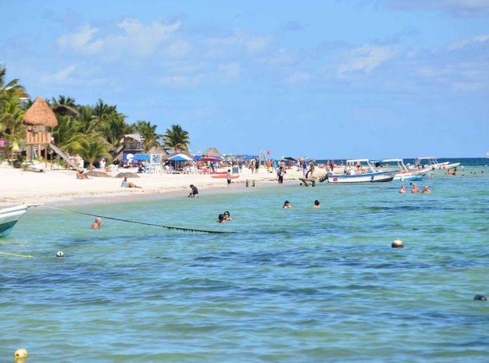 Resultado de imagen de playas puerto morelos