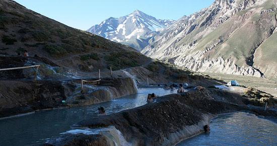 Banos Colina hot springs