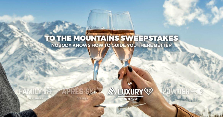 ski trip giveaway, win a ski trip