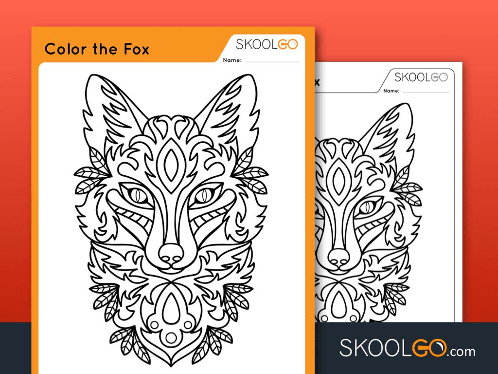 Color The Fox