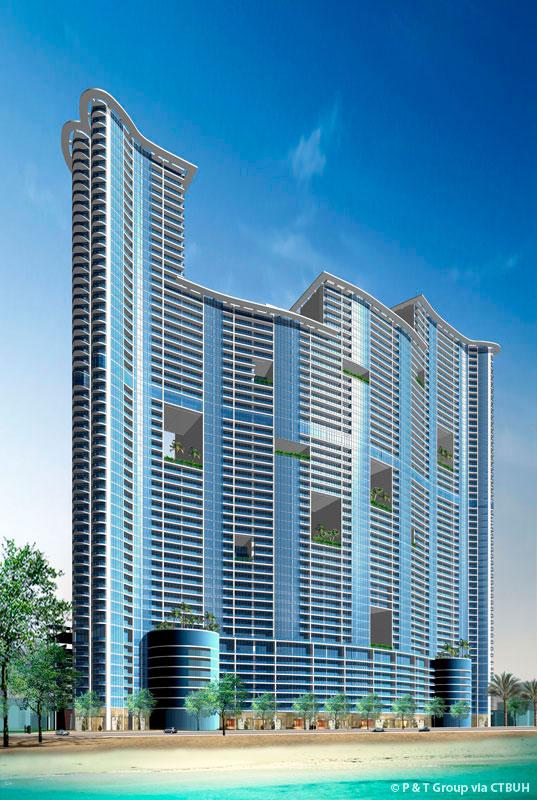 Ajman Corniche Residence - The Skyscraper Center
