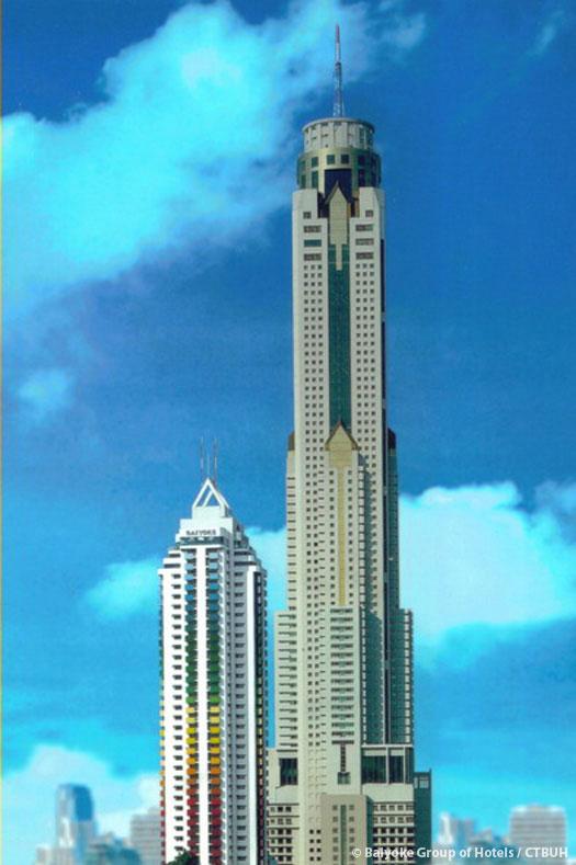 Baiyoke Tower Ii The Skyscraper Center