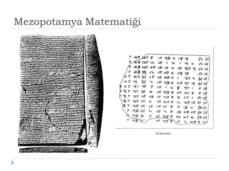 mezopotamya matematiği ile ilgili görsel sonucu