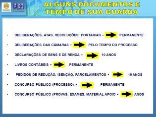 Resultado de imagem para tabela de temporalidade de documentos de arquivo