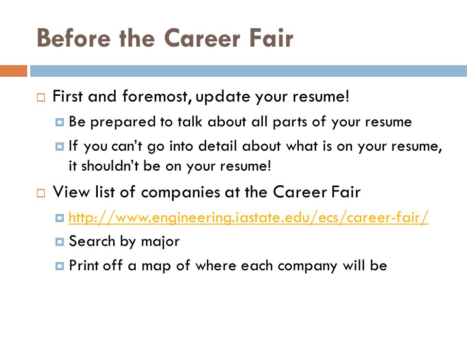 career fair prep what to do if you get an interview 270