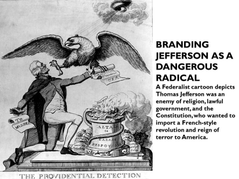 Image result for political attack ads against george washington