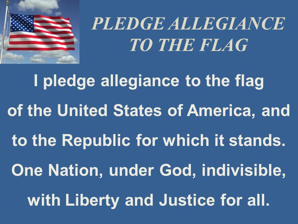 Image result for i pledge allegiance to the flag of the united states of america