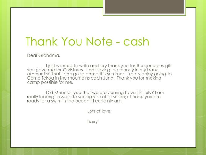 Wedding Thank You Note Wording Cash Gift : How To Write Wedding Thank You Notes For Monetary Gifts - Wedding ...