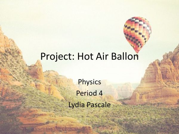 hot air balloon physic # 29