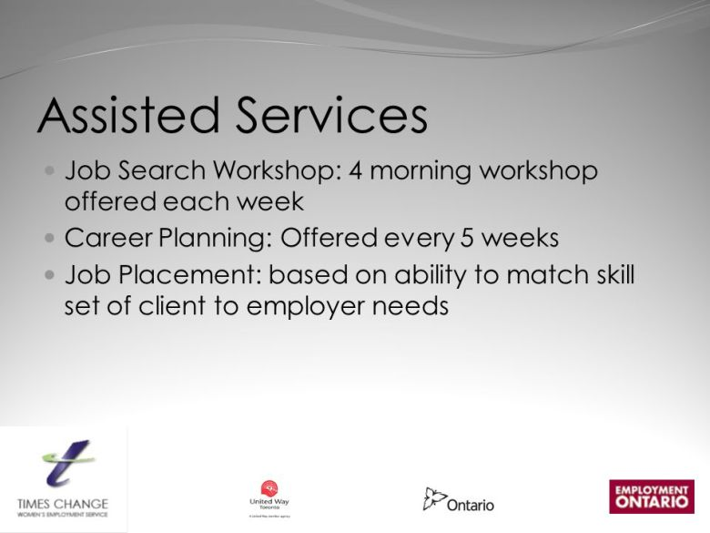 Image result for assisted job service